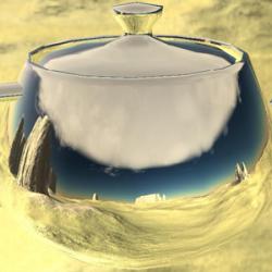 Liquid Teapot